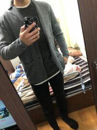大学生男です。 初デートの服装どうですかね? ちょっとキッチリめすぎますか? ジャケットは家にあったものなので、これが良ければ買わないつもりです。