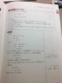 a<−4の意味がわかりません。 例えばaを−100にしてx>a+4に入れると全然x>=0を成り立ちません 誰か教えてください