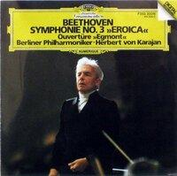 たびたび、ヘルベルト・フォン・カラヤンのベートーヴェン交響曲・第3番<英雄>についてご質問で、すみません。 こちらのCDのカップリングは何かわかりますでしょうか。 ジャケットからは、エグモント序曲、と...