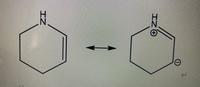 大学の有機化学の共鳴構造式の問題です。この1番左のやつの共鳴構造式は他にもありますか?
