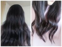 初めて髪を巻きましたがどうしたらもっと綺麗になりますか? 2つにブロッキングして全て外巻きでしました。 全部同じ位置で巻かれてるのはどうしたら改善できますか?