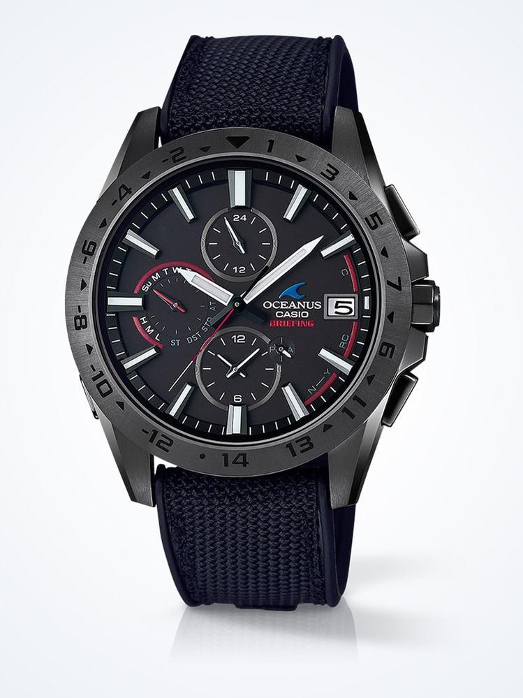SEIKOかCITIZENで CASIOとbriefingのコラボ商品の OCW-T3000BRE-1AJR に似たデザインの時計ってないですか?