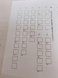 漢文の返り点についての質問です。 この問題の回答をお願いしますm(*_ _)m