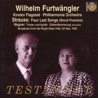 フルトヴェングラーとフィルハーモニア管弦楽団の1950年のライヴ盤のワーグナー : トリスタンとイゾルデから「愛の死」は、 フラグスタートが歌っているのですか?