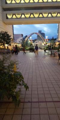 百貨店と百貨店の間の広い通路です。 こういった通路?のことをなんと言いますか??