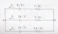 I1、I2、I3を求めるこの問いを解説お願いします。
