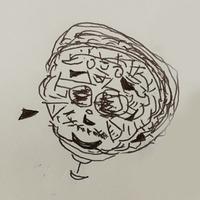 この絵はどういった精神状態で描いたものでしょうか。