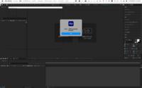 After EffectsにGG分解というプラグインを入れたいのですが、写真のようなエラーがでてうまくできません。どのように解決したら良いのでしょうか?
