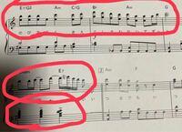 この音符のドレミファソの読み方を教えて欲しいです。 基本のドードまではわかります。