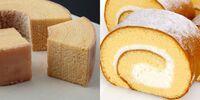 バームクーヘンとロールケーキとだったら 貴方はどちらのお菓子が好きですか?