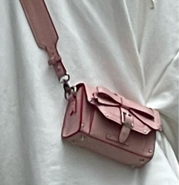 この写真の鞄の、ブランド名などわかる方いらっしゃいますか?