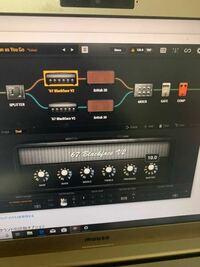ソフトのアンプシュミレーターを使っているのですが、これってオーディオインターフェースとパソコンどっちにへっフォン挿せばアンプシュミレーターが反映された音が出ますか? またパソコンに挿す音は出ないけどオーディオインターフェースに挿せばアンプシュミレーターが反映されない音が出ます  2時頃からオーディオインターフェースの設定からアンプシュミレーターの設定英語ばっかりで苦戦してますw   そろそろ...