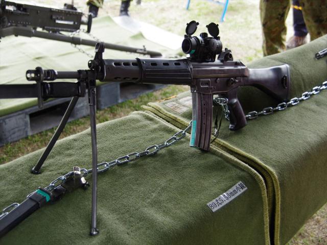 陸上自衛隊の89式小銃で武力制圧はできますか?
