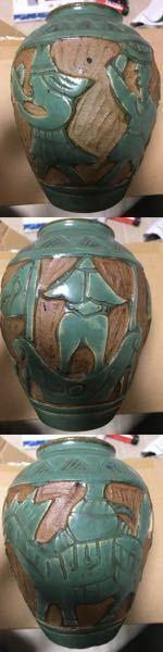 焼き物、特に壺類に詳しい方に質問です。 この壺はどこの国のどんな種類のものなのでしょうか。(写真が全てです。)