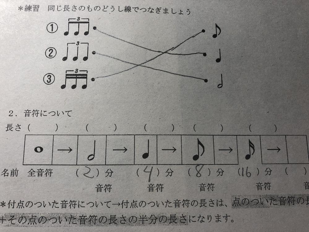 音符の長さってこの場合なんて書けばいいんですか?
