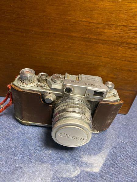このカメラは、canonのなんというカメラかわかりますか?かなり昔のものになります。