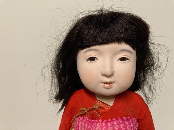 この市松人形の作家名を教えてください。