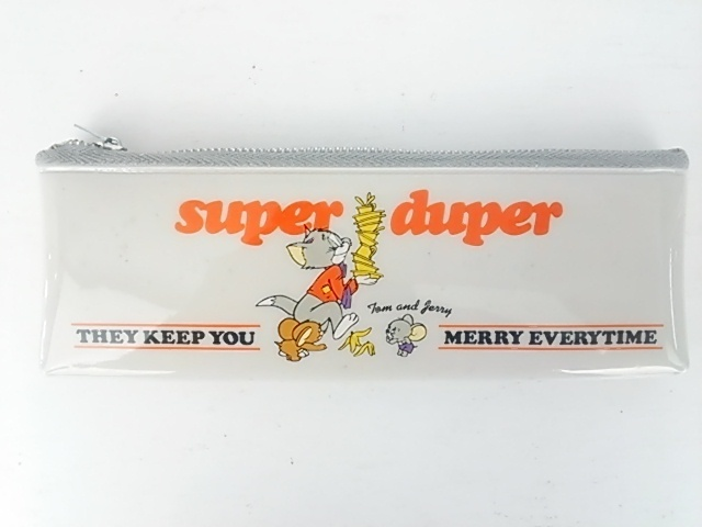 このトムとジェリーのペンケースはどこに売ってるかわかる方いませんか?