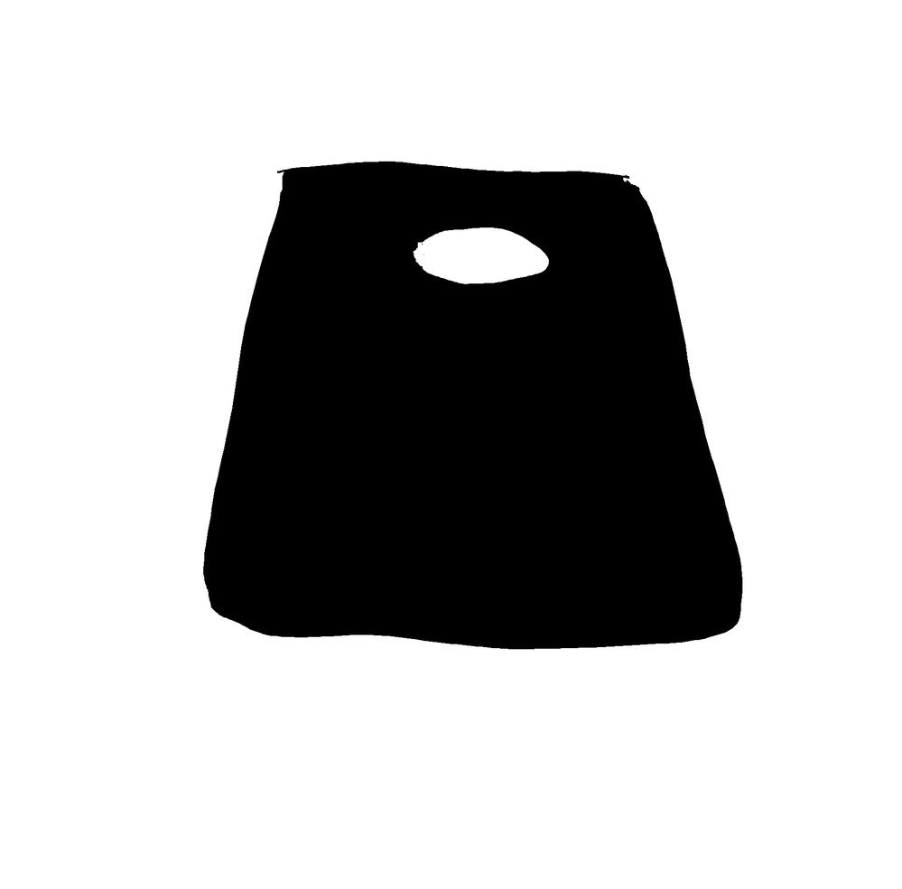 下手な絵で申し訳ありません。 画像のような形状のバッグをなんと呼ぶでしょうか?