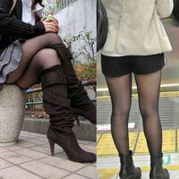 最近街で黒パンスト脚にブーツ履いてる女性いますが、あれって足蒸れたりしないんですか