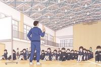冬でも全校集会のとき体育館で冷たい床の上に座らされますか? めっちゃ体冷えて辛いですよね...