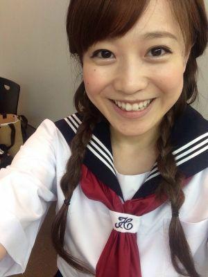 江藤愛アナは女子高生に見えますか?