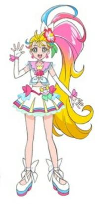 トロピカル~ジュ!プリキュアの キュアサマーは桃キュアですか?