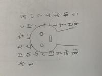 アイビスペイントで、写真のように文字の上に絵を描く方法を教えてください! 文字をコマいっぱいに書いて、その上にキャラ描きたいのですが…やり方がわからないんです
