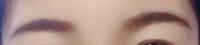 眉毛初めて書きました。濃すぎますか? 改善点あれば教えてください