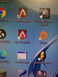 デスクトップ上にAPEXのアイコンが2つあるのですがこれって上のやつを右クリック→削除でいいんですか?それとも他のやり方があるのでしょうか?