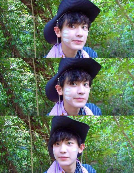 EXOのチャニョルさんがジャングルの法則で顔に塗っていた白いものは何でしょうか?
