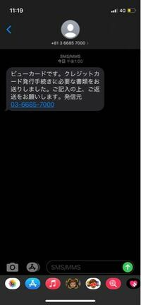 ビューカードのビックカメラSuicaカードをネットで申し込みしたんですが、ショートメールにこんな内容のメッセージが来たんですが発行手続きに必要な書類の提出は必要なんですか?