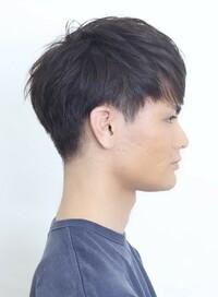 この髪型で前髪を重め(長さはこれくらい)、ツーブロックが校則で禁止だけど横はこれに近い感じ こんな感じにしたら変になりますか?
