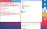 Pythonの画像処理についての質問です。ただいま、Python1年生の135ページを学習しています。 PIL.Imageによって始めて画像を扱うモジュールを使用しようと思いましたが、エラーが出てしまいました。写真には、その時のエラー文、インストールしてバージョンを表示したターミナル、Pythonのコードを含んでいます。 以下にコードを貼らせていただきます。  import tkint...