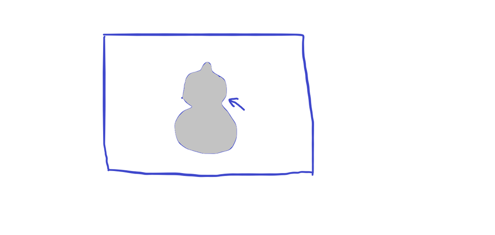 画像のピクセルについての質問です。 画像の一部分だけをピクセルorほかの何かで大きさをはかる方法を教えてください 例えば添付した画像のひょうたんの部分だけのピクセル数を 確認する方法を教えてください。