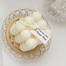 ボンボンキャンドルが置いてある下の竹籠?みたいなのってダイソーやセリアなどで売っていたりしますか?また売っていたら、なんという名前で売っていますか?