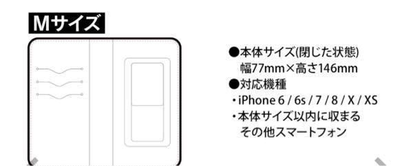 対応機種に無いのですが…このサイズにiPhoneXRははいりますか?