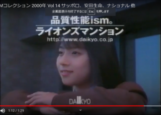 この画像、20年前の2000年に流れてたCMなんですが 画像に写ってる女優は誰ですか? わかる方のみ答えてください