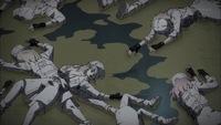 はたらく細胞BLACKのことで質問なのですが、 画像に映ってる膿は、画像内にいる白血球の死体から出た液体ですか? それとも、この膿は画像内にいる白血球の死体が死ぬ前に死んだ白血球の死骸ですか?