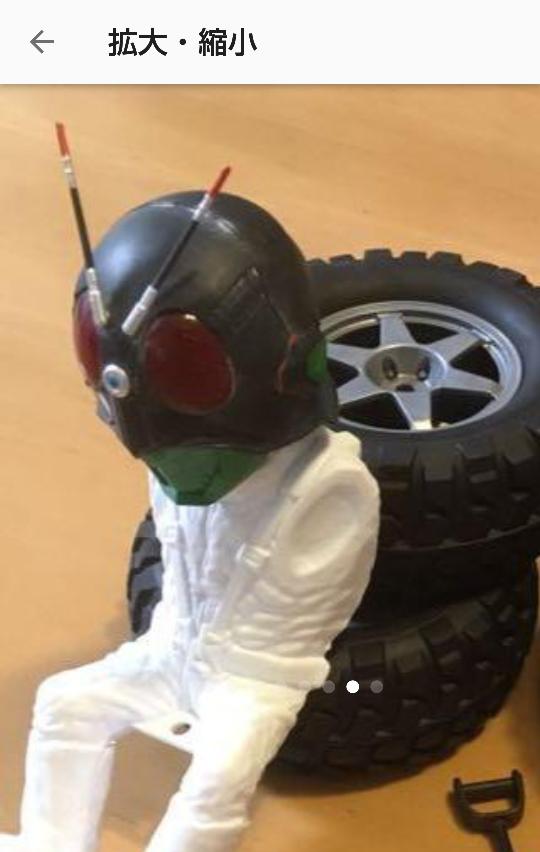 タミヤ1/10コミカルシリーズのドライバー人形について。 YouTubeなどで、たまに見るのですがヘッド部分を仮面ライダーや、他の物に取り替えて付けてあるのを見ます。 あのヘッドは何処から入手...