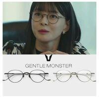 gentle monsterの画像のメガネは何の形のメガネにカテゴライズされますか? オーバル型ですか?
