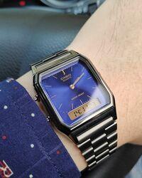 普段ロレックスの時計をしてる人が急にこのようなチープカシオしてたらどう思いますか(・_・?)