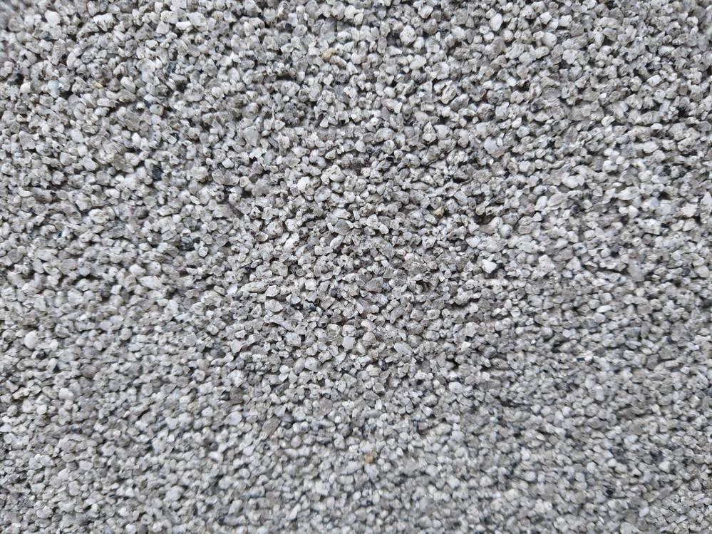 壁に御影石一分洗出しにて質問です。 仕上がりの評価いただけないでしょうか?