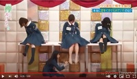 先ず、欅坂46(現・櫻坂46)のあおたん事、原田葵の動画を ご覧になり、後の問いにご回答ください。 https://www.youtube.com/watch?v=dsQ8qglQwws (特に、4分14秒~4分21秒にかけてを見てください)  ①. 4分14秒~4分21秒にかけての 「あおたんに本当に足をくすぐられているのは誰か」 のシーンですが、是は一体何のコーナーですか?  ②. 4分...