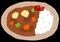 目の前にカレーが2皿あります。 あなたはどっち食べますか? (^。^)b  1、超激辛大人のカレー 2、超甘口お子ちゃまカレー