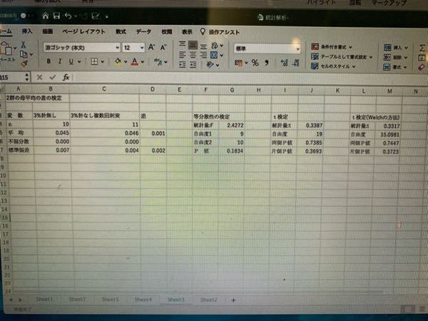 画像に載っている統計分析結果をパワーポイントで載せたいのですがどのように作ればいいでしょうか? 宜しくお願いします。