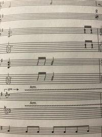 この二重スラッシュの音符はどのような意味ですか?