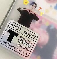 このホログラムシールってどうやったら手に入れられるのでしょうか?? NCT127 NCT DREAM WayV シズニー ウェイゼンニ イリチル ドリーム 威神V 韓国 KPOP