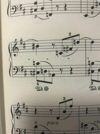 ショパン スケルツォ第1番の曲の譜読みについて質問です。 左手の「ド」の音は、この場合ド♯の音で弾けば良いでしょうか。