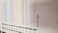 キャノンのMG6230のプリンターですが、ノズルチェックパターンを印刷したところ、『ver.』 が記載されていないんですが、なぜでしょうか?
